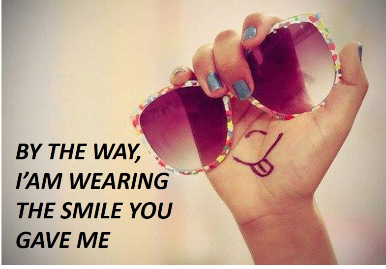the smile you gave me