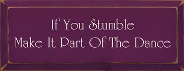 IF YOU STUMBEL